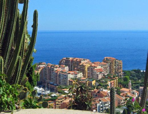 Monaco - Jardin exotique
