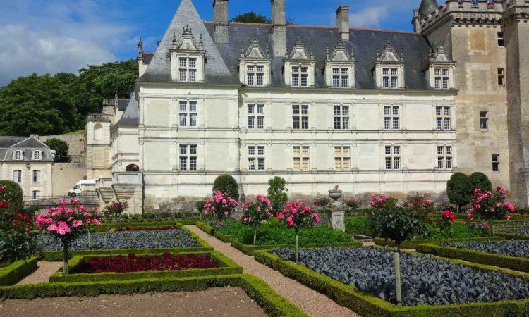 Le Potager et le château de Villandry