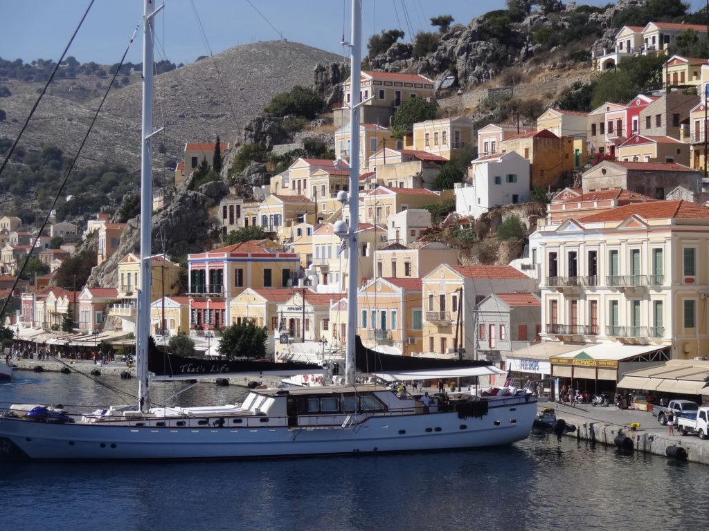 Le port de Symi