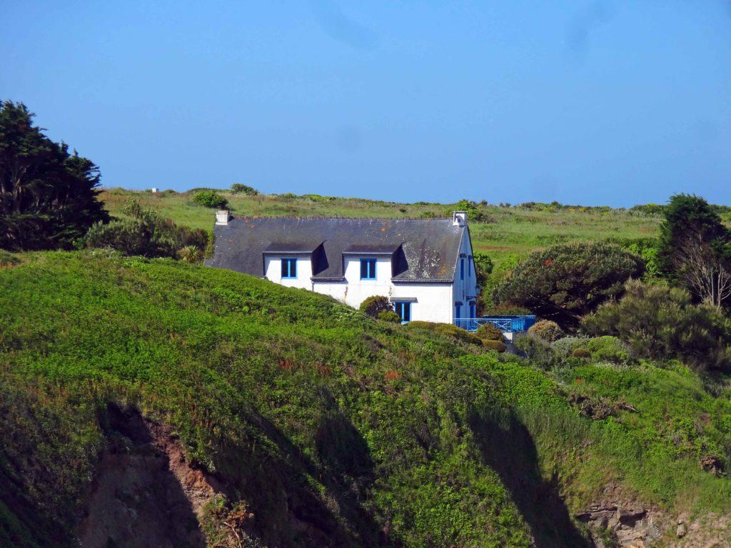 Du côté de Beg er Gorlay. En hiver l'île ne compte qu'environ 300 habitants.