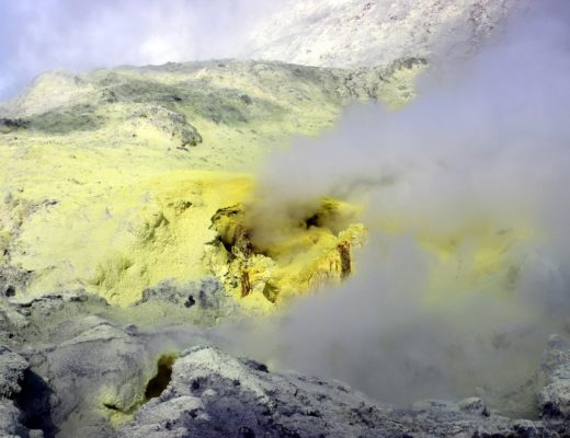 Evaporation soufre
