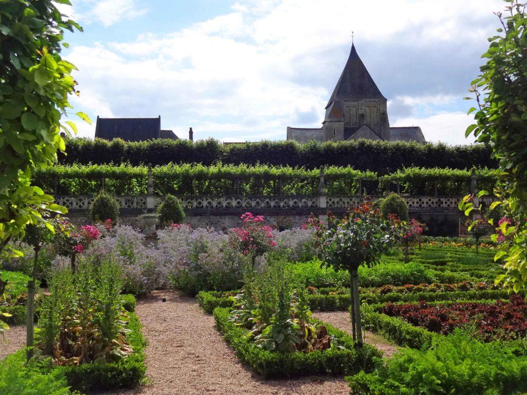 Jardin des Simples consacré aux plantes aromatiques