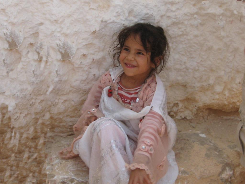 Petite fille à Djerba
