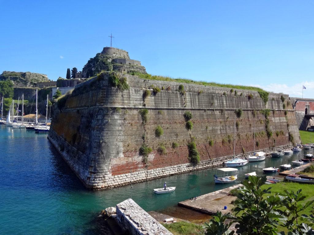 Rempart de la vieille forteresse